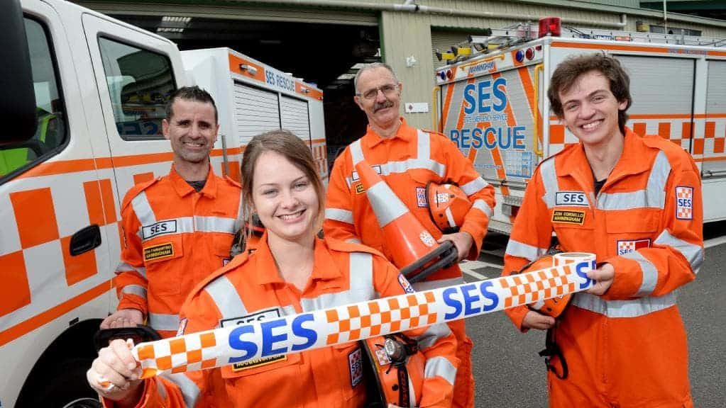 Victorian SES team